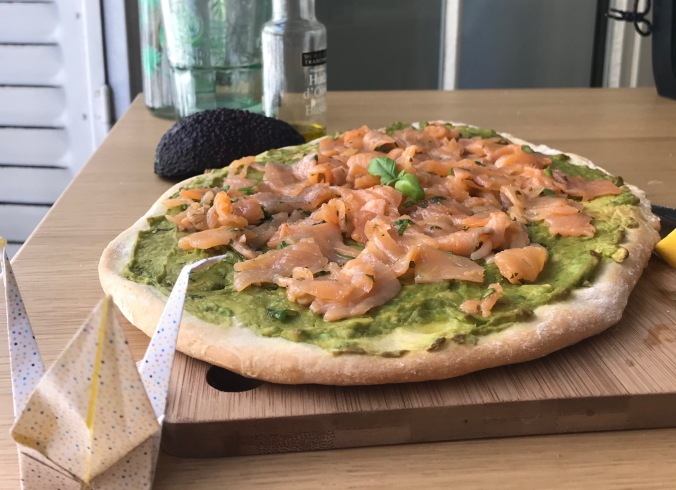 camille bavarde le journal de camille pizza saumon avocat picard
