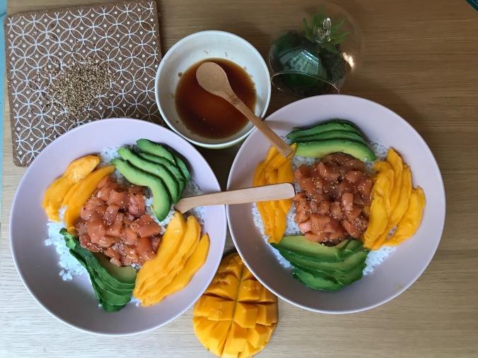 chirashi saumon camille bavarde
