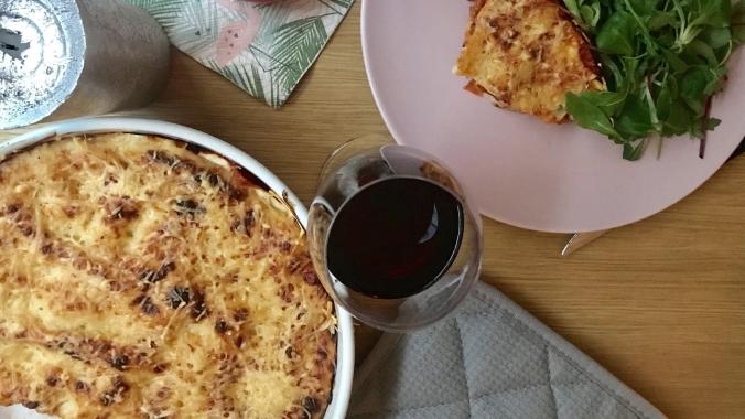 camille bavarde recette lasagnes parmesan