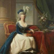 Marie-Antoinette, reine de France. Elisabeth Vigée-Lebru